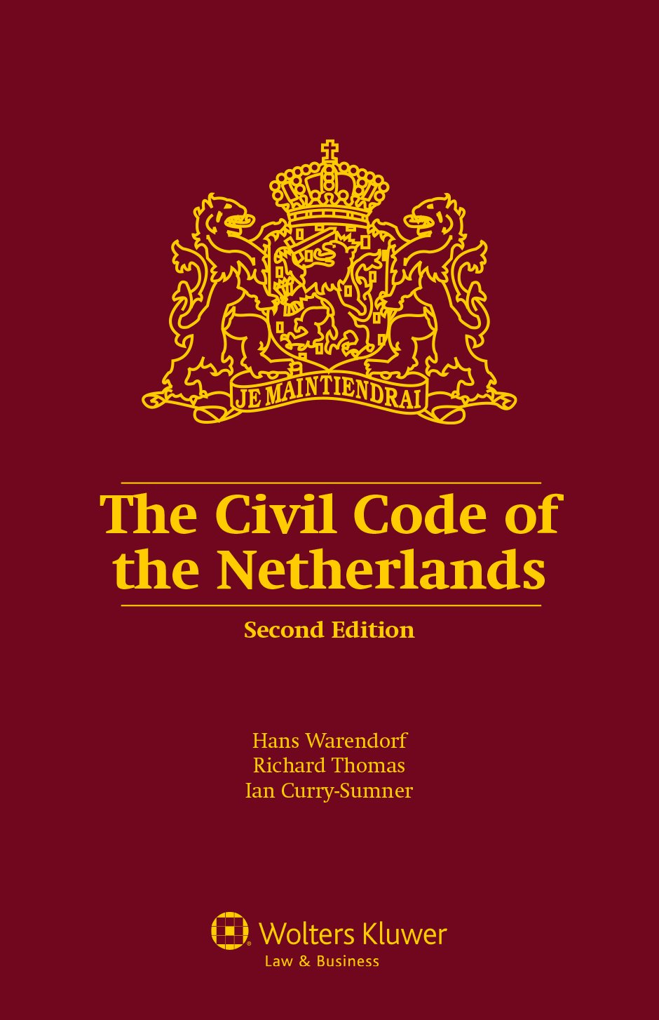 Download The Civil Code Of The Netherlands 