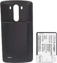 KML Battery for LG BL-53YH,fit Model LG G3 D855 D855 LTE D855K LS990(6000mAh / 22.80Wh,3.80V,Li-ion)