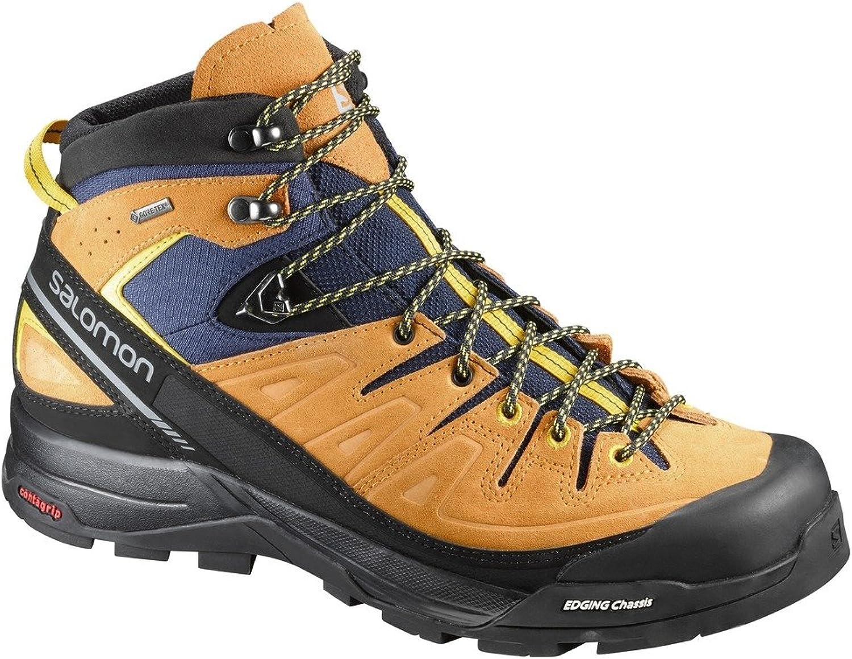 Salomon Herren X Alp Mid Ltr GTX Trekking- & Wanderstiefel, blau, XXL