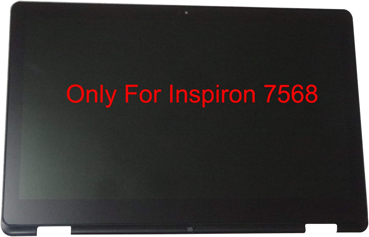 15.6 Touch Screen Replacement Digitizer Glass LCD LED Display 30 Pin FHD 1920x1080 YouTube Instructions Available Bezel for Dell Inspiron 15-7568