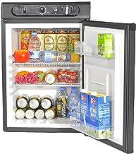 SMETA 3 Way Fridge 2.1 Cu.ft Outdoors Refrigerator without Freezer Propane/110V/12V Fridge for Camping, RV, Motorhome and ...