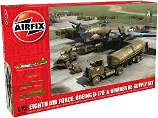 Airfix Eighth Air Force: Boeing B-17G & Bomber Re-Supply Set 1:72 Model Kit
