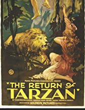 The Return Of Tarzan: A Fantastic Story of Action & Adventure (Annotated) By Edgar Rice Burroughs.