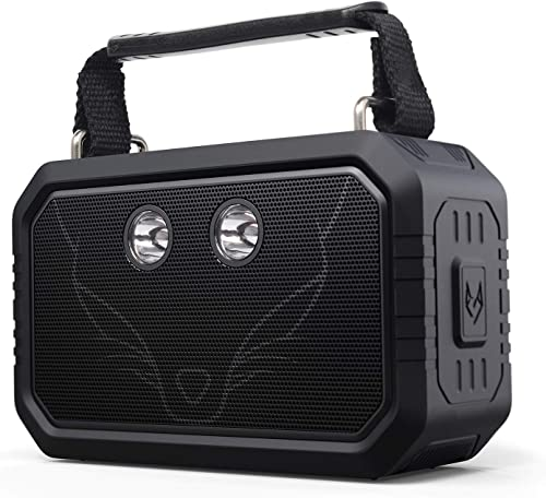 DOSS Traveler Wireless Portable Bluetooth Speakers with Waterproof IPX6, 20W Stereo Sound and Bold Bass, 12H Playtime...