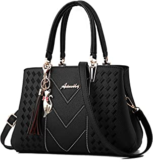 ALARION Womens Purses and Handbags Shoulder Bag Ladies Designer Satchel  Messenger Tote Bag 852f5e01af1e9