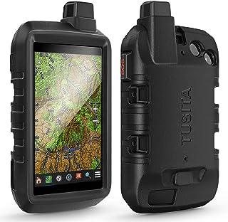 TUSITA Hoesje Compatibel met Garmin Montana 700i 750i - Siliconen Bescherming Hoes Beschermhoes Huid - Handheld GPS Naviga...