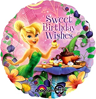 Fantastic Floatables Anti-Gravity Hovering Flying Floating TINKERBELL BIRTHDAY 18 inch Toy Pet Balloon Party Favor