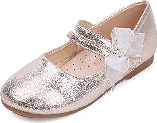 d02da7241f EIGHT KM Toddler Girls Mary Jane Flats Shoes