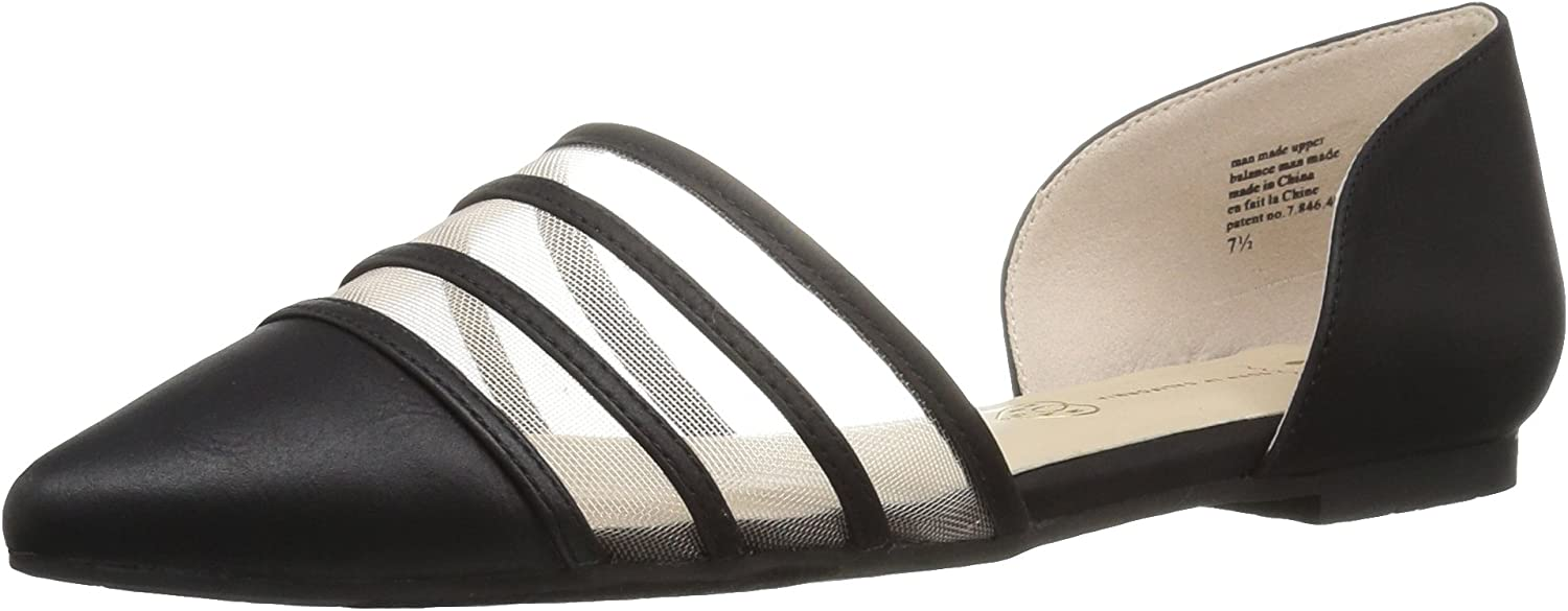 BC Footwear Womens Wait a Minute Pointed Toe Flat