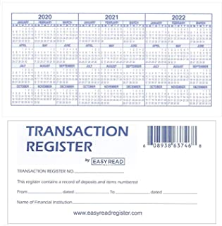 12 Check registers for Personal Checkbook - Checkbook Ledger Transaction Registers Log for Personal or Business Bank Check...