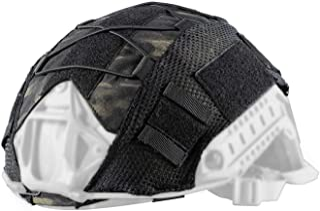 OneTigris Multicam Helmet Cover - No Helmet (ZKB06 for Ballistic Fast Helmet in Size L & Fast PJ Helmet in Size L/XL - Multicam Black)