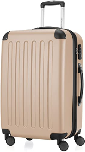 HAUPTSTADTKOFFER - Spree - Valise de Taille Moyenne, Bagage de soute rigide ABS, TSA, extensible, extra léger, 4 roue...