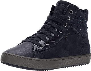Geox J Kalispera E, Sneaker a Collo Alto Bambina
