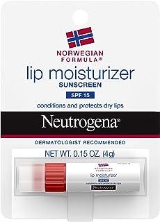 Neutrogena Lip Moisturizer Spf#15 Stick (3 Pack)