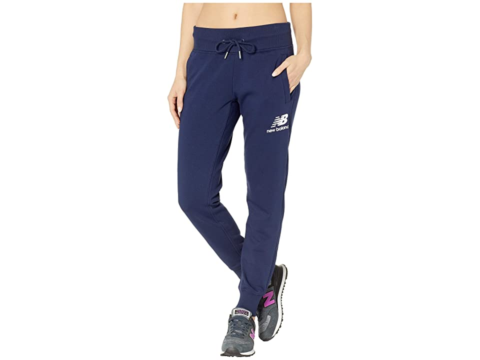 New Balance Essentials French Terry Sweatpants (Pigment) Women