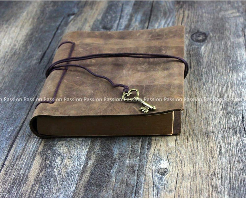 VQEWZ Notizbuch Leder Tagebuch Notizbuch Aus Echtem Echtem Echtem Leder Vintage B07MKZQ36B  | Ausgezeichnetes Preis  fd11a2