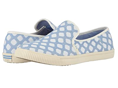 TOMS Clemente (Bliss Blue Large Dots) Women