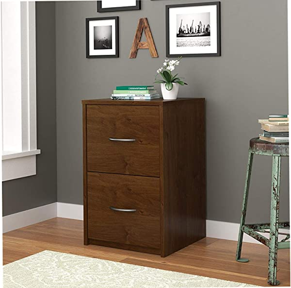 Wood Style Furniture Core 2 Drawer File Cabinet Northfield Alder Decor Comfy Living Furniture Deluxe Premium Collection