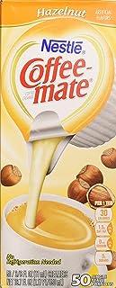 Coffee-mate Hazelnut Creamer, .375 oz., 50 Creamers/Box - 1 Pack