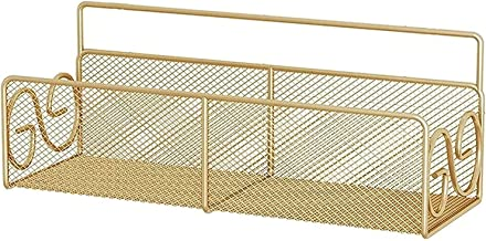 XINHU 38x12x16.5cm Badkamerplank, badkamerplank, douchekap, keukenplank, aan de muur gemonteerde douchemand, goud (Color :...