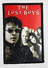 """☆ The Lost Boys 4.5"""" x 3"""" 1987 Classic Horror Movie Poster Logo Patch NEW ☆"""