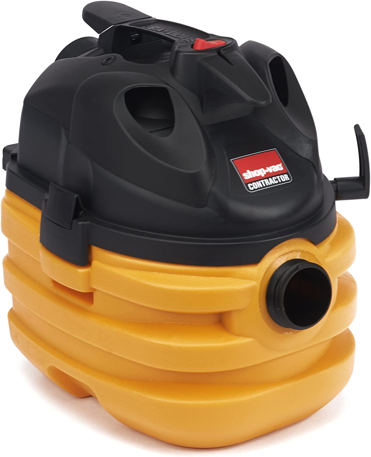 Shop-Vac 5872810 6.0 Peak HP Heavy Duty Portable Vacuum 5 Gallon Yellow Black with Cord & Tool Storage & Multifunction Accessories, Uses Type BB Cartridge Filter & Type H Filter Bag