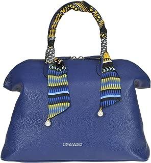 Luxury Fashion   Ermanno Scervino Womens MCGLBRE000006151I Blue Handbag   Season Outlet