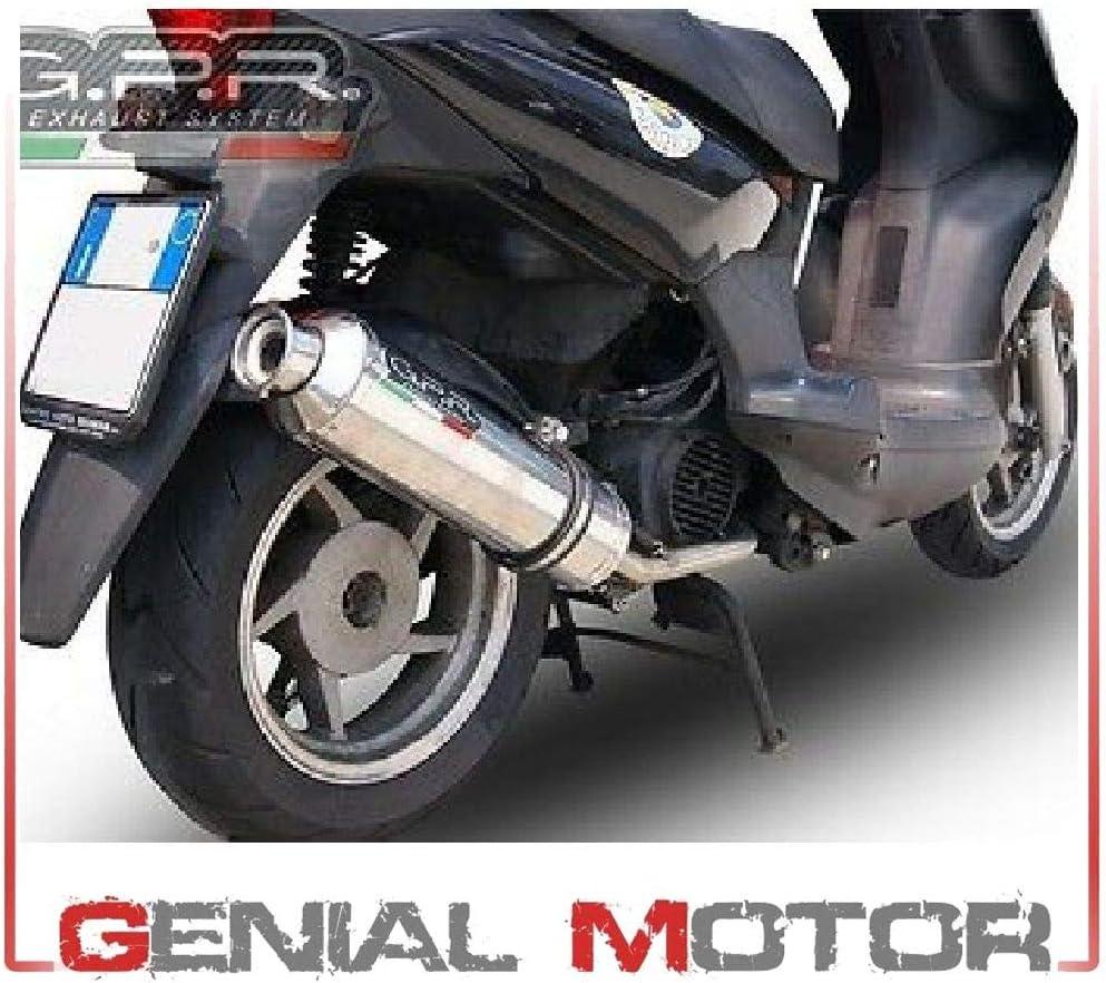 ESC004 MARMITTA SCARICO GPR OMOLOGATA Piaggio NRG 50 1996 /> 1998 RST MC2 LC
