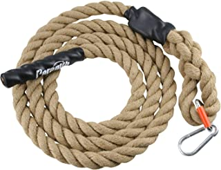 Perantlb Gym Climbing Rope for Fitness and Strength Training, 1.5'' in Diameter, Length Available: 10, 15, 20, 25, 30, 50 Feet