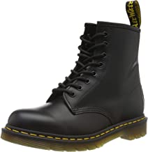 Dr. Martens 1460 Originals 8 Eye Lace Up Boot,Black Smooth Leather,3 UK (4 M US Mens / 5 M US Womens)
