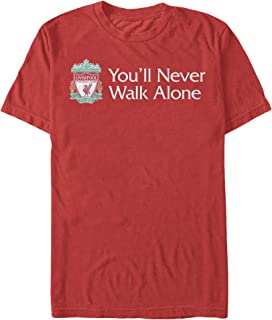 Liverpool Red Panel Mens T-shirt L