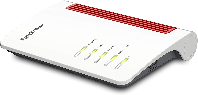 Avm FritzBox 20 AX WI FI 20 Router DSL/VDSL, 20,20 Mbps & 2000 ...