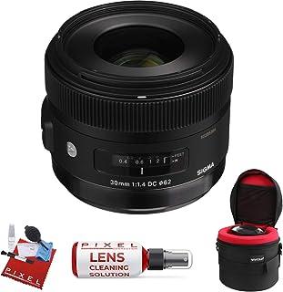 Sigma 30mm f/1.4 DC HSM アートレンズ Canon用 プロクリーニングキット付き
