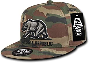 WHANG California Republic Snapbacks