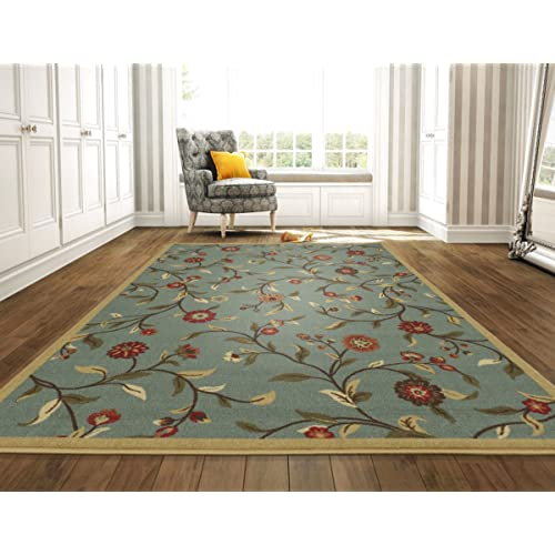 Teal And Green Area Rugs 8x10 Amazon Com