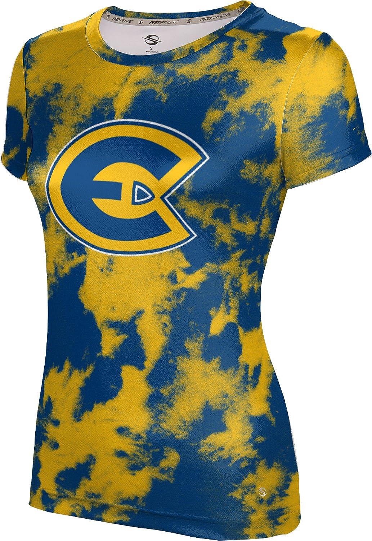 University of Wisconsin-Eau Claire Girls' Performance T-Shirt (Grunge)