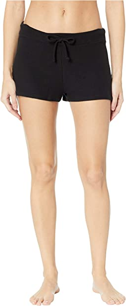 Brushed Hacci Jogger Shorts