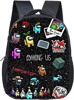 Bestomrogh Hot Game Among Us Mochila ligera para la escuela, bolsa de hombro, bolsa para ordenador portátil, mochila de mo...