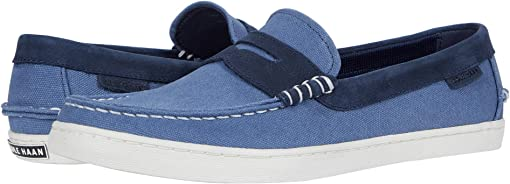 Vintage Indigo Canvas/Navy Ink Nubuck