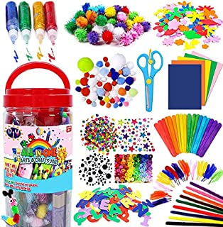 Rayking Kid Arts Crafts Pipe Cleaners for DIY Art Creative Crafts Decoration Creative Assorted Craft Supplies DIY Accessories
