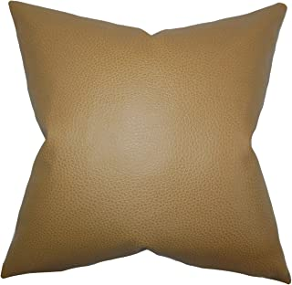 The Pillow Collection Quintas Solid Bedding Sham Khaki Queen/20