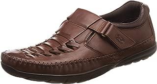 Scholl Men's Stanley FM Leather Sandals