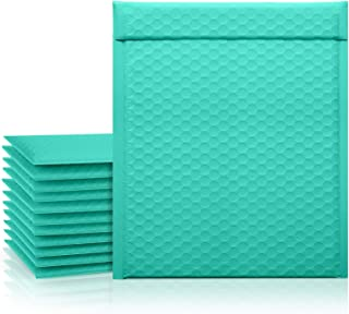 Fuxury 8.5x12 Teal Bubble Mailers, 25 Pcs Padded Envelopes Shipping Bags, Self-Seal Poly Bubble Mailer Packaging Bags, Sma...