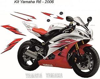 Kit completo pegatinas Yamaha R6desde 2006