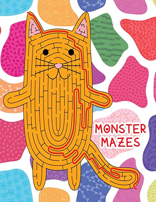 Monster Mazes: Amazing Maze Activity Book and Boosts your child's confidence