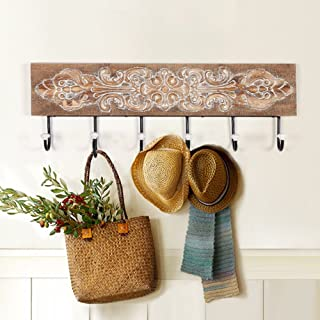 Uncle SamLI@ Wall solid wood decoration hook/iron wall hangers/coat hook/creative European metal hook hook