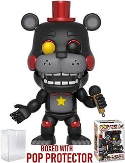 Funko Pop! Games: Five Nights at Freddy's Pizza Simulator - Lefty Vinyl Figure (Bundled Pop Box Protector Case)