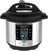 Instant Pot Max Pressure Cooker 9 in 1, Best for Canning with 15PSI and Sterilizer, 6 Qt