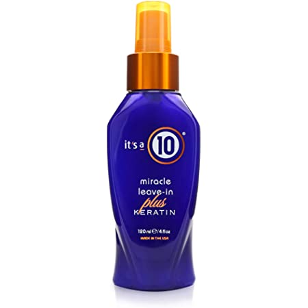 It's a 10 Haircare Miracle Leave-In Plus Keratin Spray, 4 fl. oz. (Pack of 1)