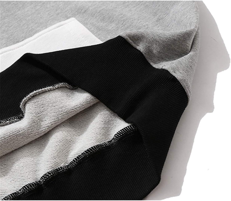 KETUREIR Sweat-Shirt à Capuche pour Hommes Blanc